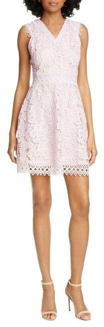 Item - Pink Blush Beniel Lace Fit and Flare Party Euc Short Cocktail Dress Size 8 (M)