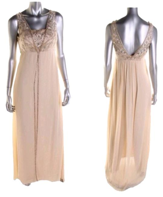 Preload https://item5.tradesy.com/images/sue-wong-champagne-beige-embellished-empire-full-length-evening-gown-formal-dress-size-2-xs-2691589-0-0.jpg?width=400&height=650