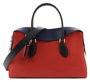 Louis Vuitton Leather Tote in Black, Blue, Pink, Red