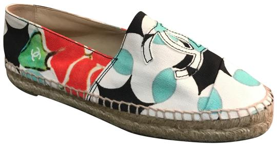 Chanel Slip On New Espadrilles Sale Espadrilles Sale Multi Flats