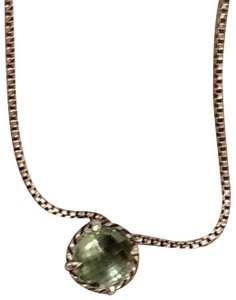 David Yurman GORGEOUS!! David Yurman Prasiolite Chatelaine Necklace