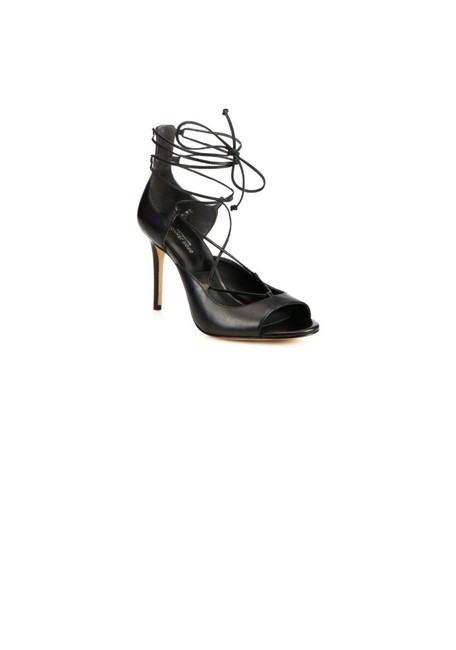 Item - Black Valerie Lace Up Heels Pumps Size EU 39 (Approx. US 9) Regular (M, B)