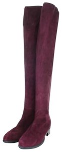 Tory Burch maroon Boots