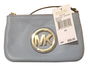 Michael Kors Wristlet in Pale Blue