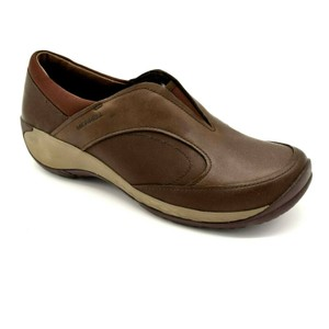 Merrell Leather Brown Mules