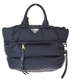 Prada Made In Italy Tote in Black