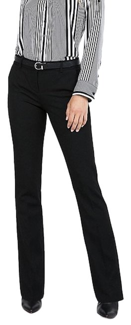 Item - Black Mid Rise Barely Boot Columnist Dress Pants Size 0 (XS, 25)