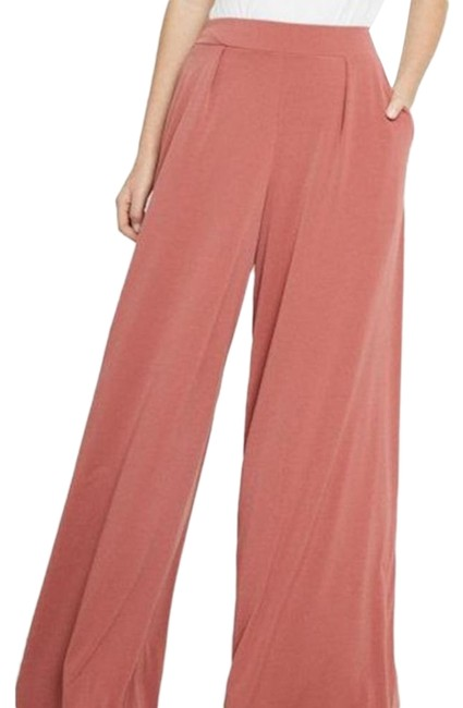 Item - Red Brown Jersey Pink High Waisted Dress Pants Size 2 (XS, 26)