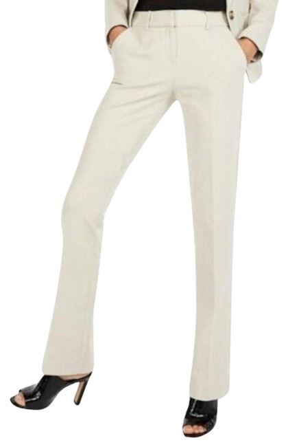 Item - Cream New Khaki Mid Rise Barely Boot Columnist Pants Size 8 (M, 29, 30)