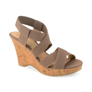 CL by Chinese Laundry Taupe, Tan Wedges