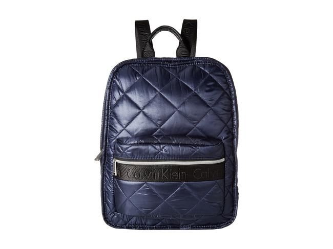 Item - Cire Quilted Indigo Nylon Backpack