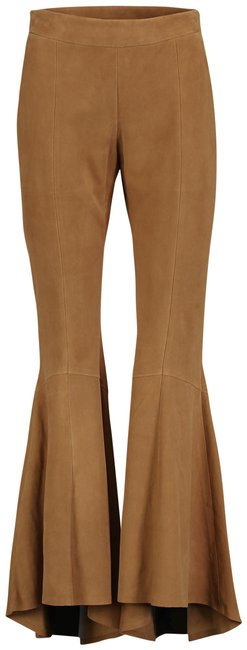 Item - Brown S Made In Italy Suede Tess Structural Pants Size 6 (S, 28)
