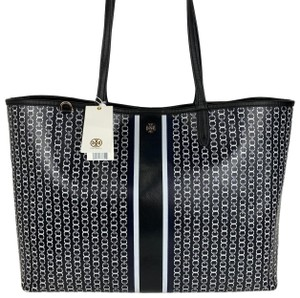 Tory Burch Tote in Black and White