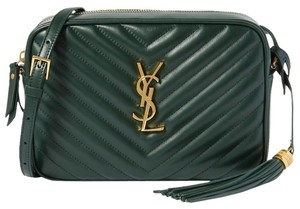 Saint Laurent Ysl Camera Purse Quilted Cross Body Bag