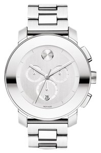 Movado Stainless Steel Bracelet Bold Chronograph Mirror Dial 3600147