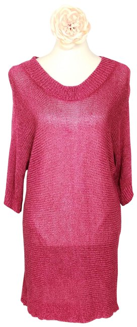 Coldwater Creek Pink Sweater Coldwater Creek Pink Sweater Image 1