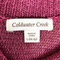 Coldwater Creek Pink Sweater Coldwater Creek Pink Sweater Image 5