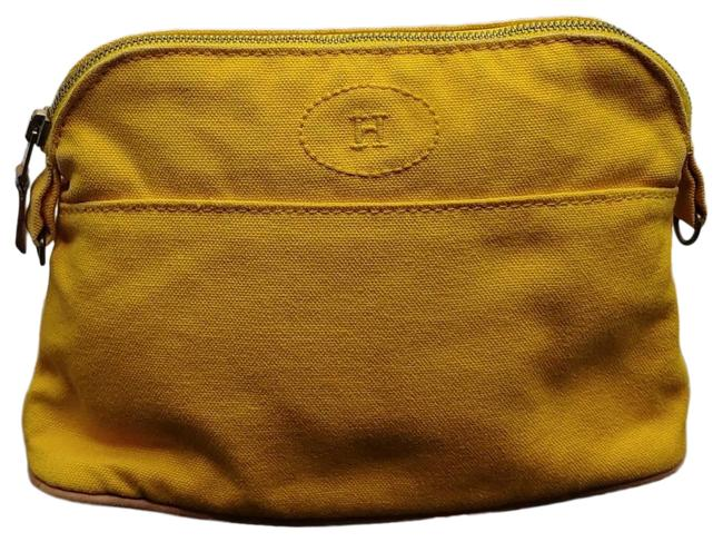 Item - Cosmetic Pouch Bolide Orange Canvas Clutch