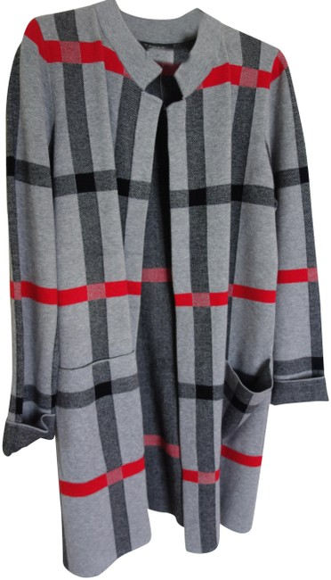 Item - Red / Grey /Red Plaid Coat Jacket Size 12 (L)