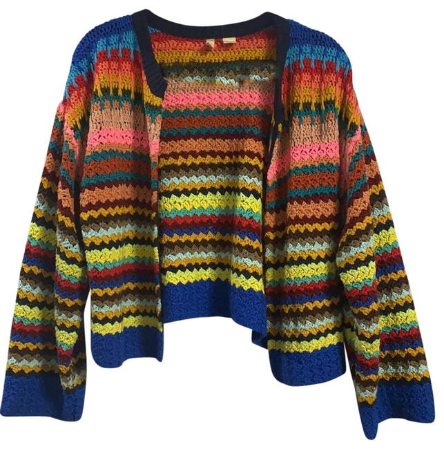 Item - Girl In Technicolor Sweater