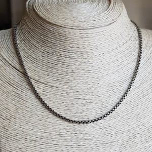 "David Yurman David Yurman 16"" Box Chain Necklace"