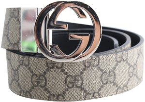 Gucci Gucci GG Supreme Reversible Belt