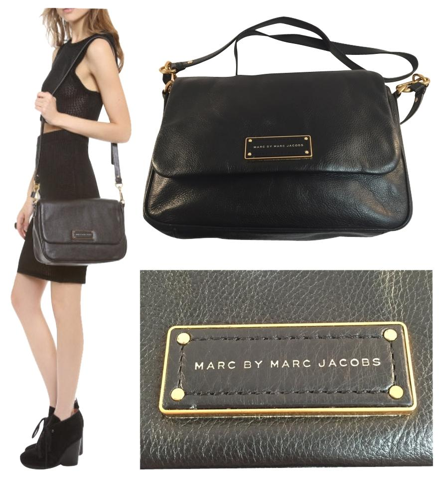 1c0efcd824d1 Marc by Marc Jacobs Too Hot To Handle Lea Black Leather Cross Body ...