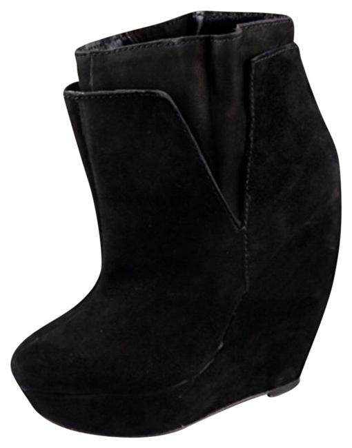 Item - Black Corby Suede Ankle Boots/Booties Size US 8.5 Regular (M, B)