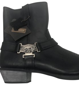 Henry Dunay Designs Black silver button Boots
