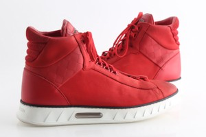 Louis Vuitton Red Streetlight Shoes