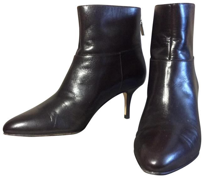 Item - Brown Leather Ankle High Boots/Booties Size EU 36 (Approx. US 6) Regular (M, B)
