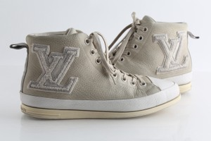 Louis Vuitton Multicolor Fastball Suede High Top Sneakers Shoes