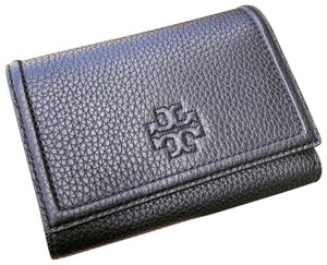 Tory Burch NWT TORY BURCH THEA MEDIUM FLAP WALLET BLACK 0219