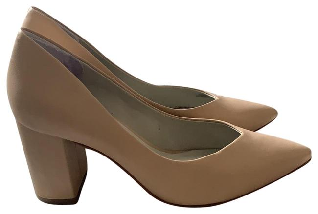 Item - Nude Selim Pointed Toe Pumps Size US 5.5 Regular (M, B)