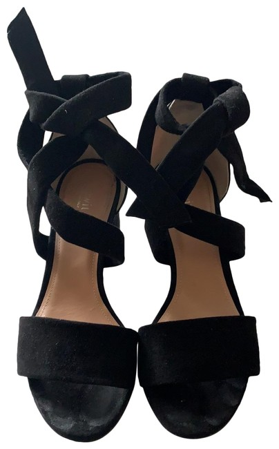 Lewit Black Elda Ankle Wrap Sandal Pumps Size EU 35 (Approx. US 5) Regular (M, B) Lewit Black Elda Ankle Wrap Sandal Pumps Size EU 35 (Approx. US 5) Regular (M, B) Image 1