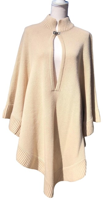 Item - Cream Cashmere Poncho/Cape Size OS (one size)