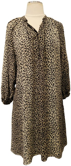 Item - Animal Print Short Casual Dress Size 8 (M)
