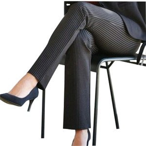 Alex Marie Trouser Pants Navy and ivory stripes
