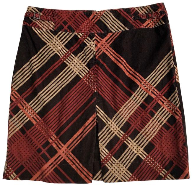 Item - Brown Plaid Skirt Size 8 (M, 29, 30)