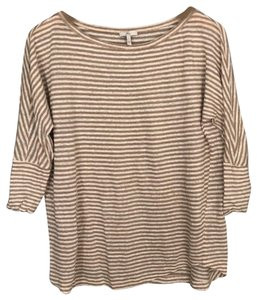 Joie Top Tan, Ivory