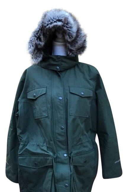 Item - Green Waterproof Superior Parka Coat Size 22 (Plus 2x)