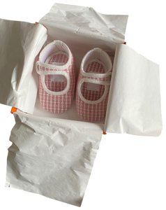 Hermès Baby Baby Cashmere Baby Gift pink Flats