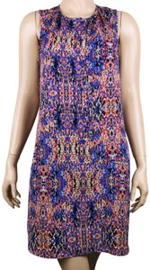 Collective Concepts short dress Multicolor Abstract Boho Sleeveless Above Knee on Tradesy