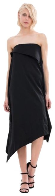 Item - Black Olivie Mid-length Formal Dress Size 6 (S)