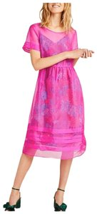 pink Maxi Dress by Anthropologie