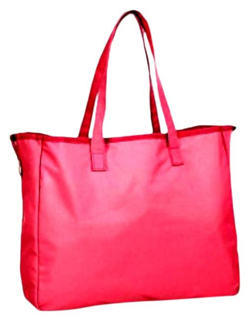 Item - Reversible Mini Beauty Pink Canvas Tote