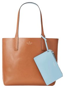 Kate Spade Tote in blue and brown