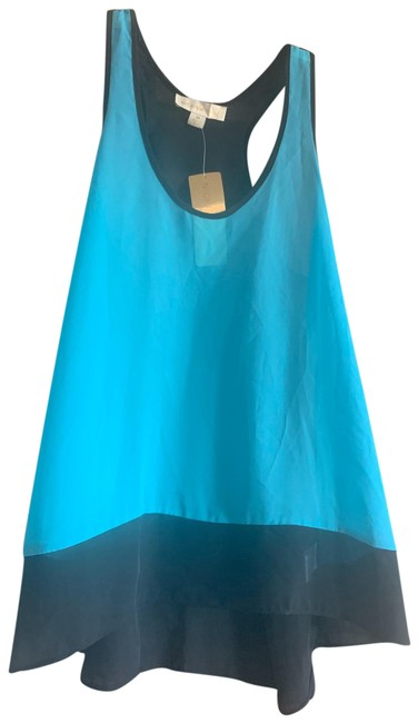 Item - Black and Turquoise Color Tank Top/Cami Size 8 (M)