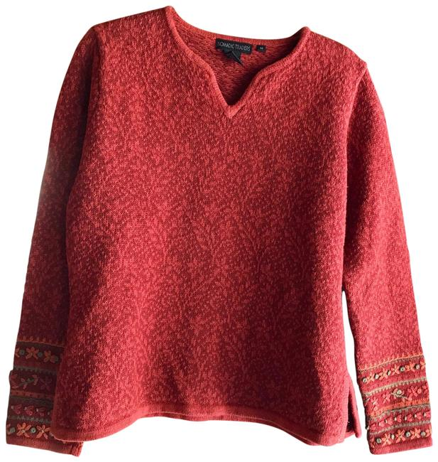 Item - Cotton Red / Multiple Sweater
