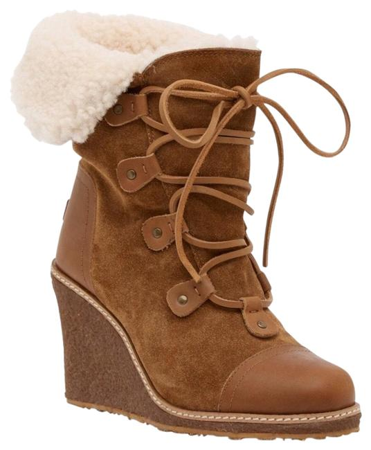 Item - Brown Mona Genuine Shearling Chestnut Boots/Booties Size US 10 Regular (M, B)
